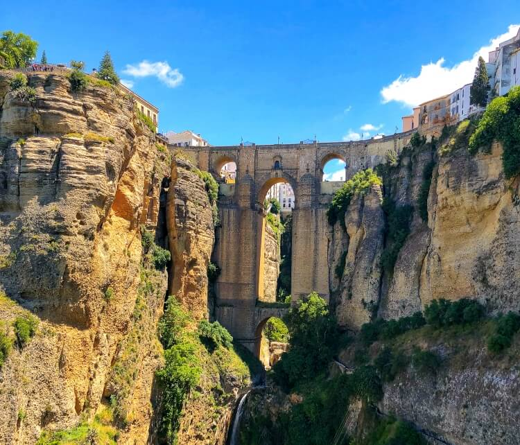 the main bridge in Ronda