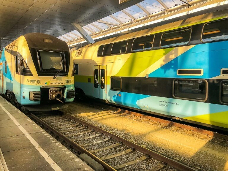 Booking ground transport like trains and buses is all part of the planning stages for travel trains in austria