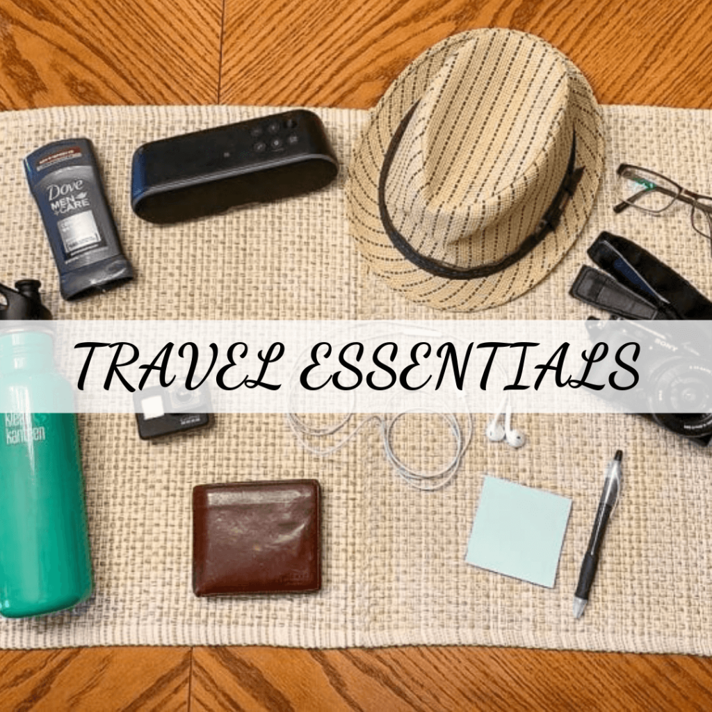 Hats, Passports, Wallet, etc for traveling