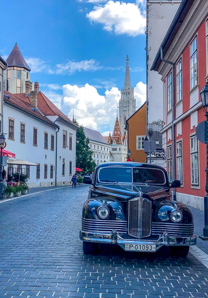 Bentley in Buda Castle district
