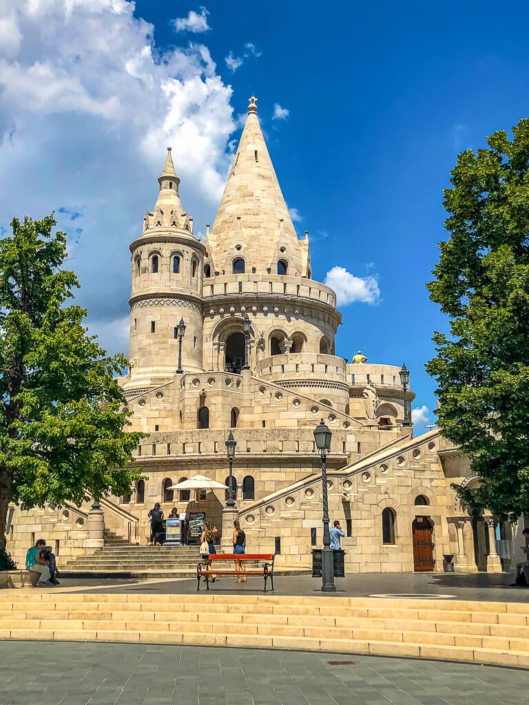4 days in Budapest itinerary Fishermans bastion Buda Castle district