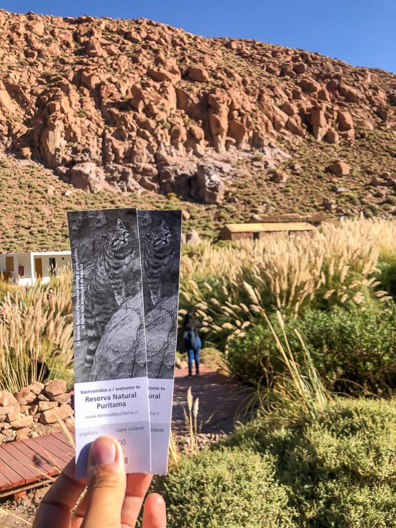 Tickets to puritama hot spring one of things to do in San Pedro de Atacama