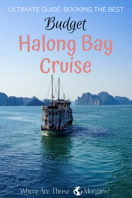 how to book a cheap budget Halong Bay cruise Vietnam