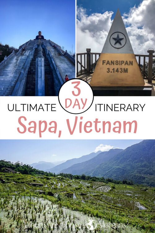 Action Packed 3 Day Itinerary: Sapa, Vietnam