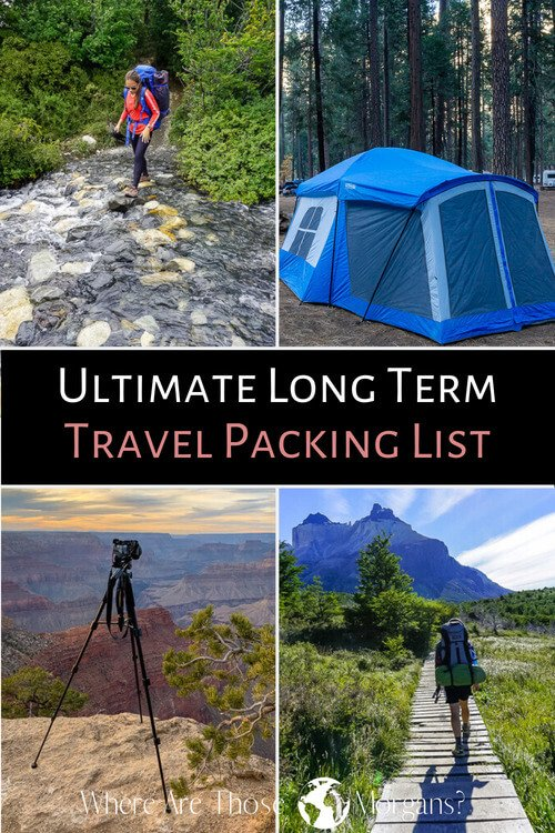 Ultimate Long Term Travel Packing List
