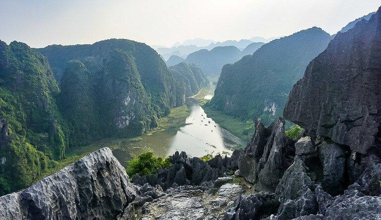 Mua Cave viewpoint ninh binh fourth stop on 3 week Vietnam Itinerary