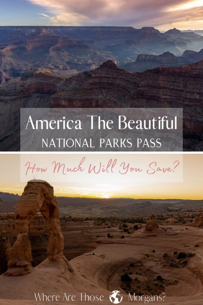 America the beautiful national parks pass how much will you save