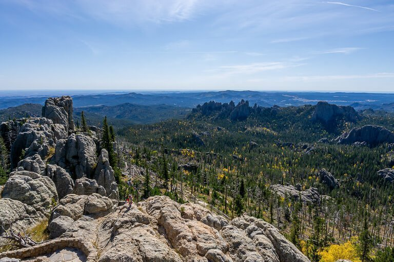 Black elk peak hike trail in custer state park is epic and one of the best things to do near Mount Rushmore on a South Dakota road trip itinerary