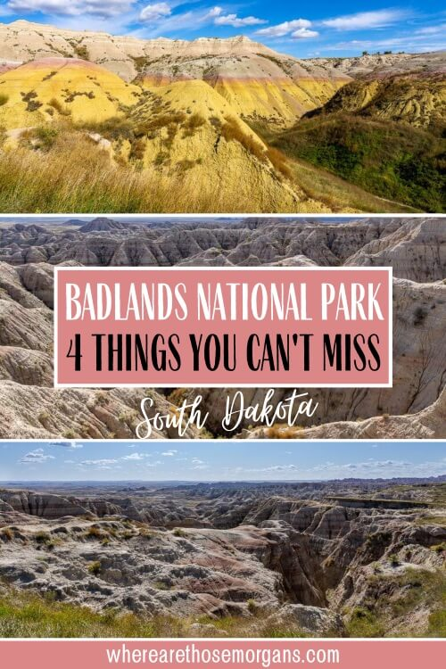 4 things you can't miss at badlands national park South Dakota
