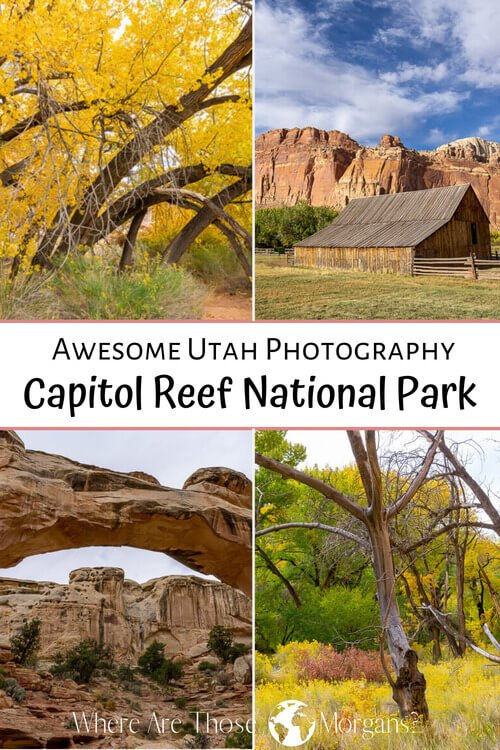 Awesome Utah Photography Capitol Reef National Park