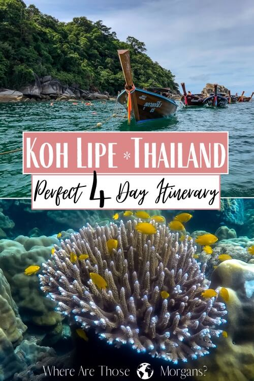 Koh Lipe Thailand Perfect 4 Day Itinerary