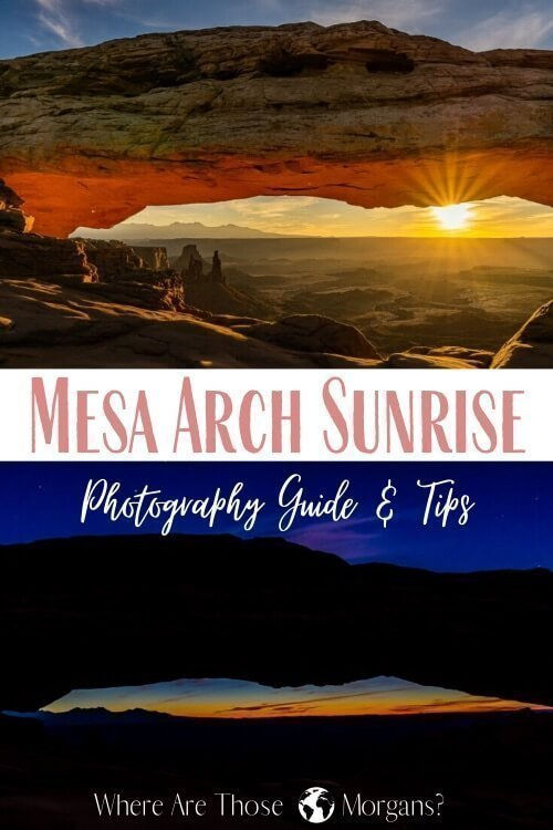 Mesa Arch Sunrise Photography Guide and Tips