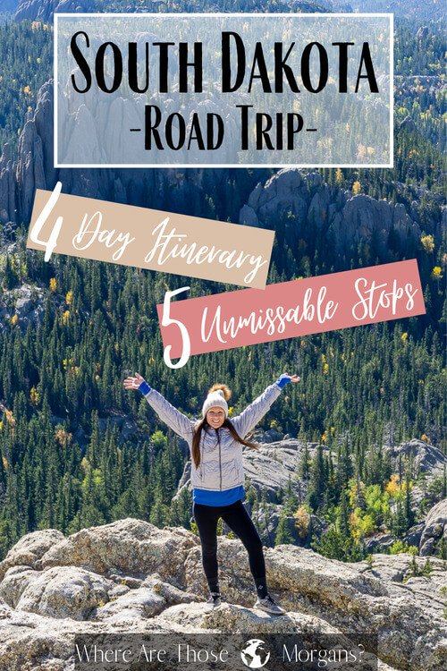 South Dakota Road Trip 4 Day Itinerary 5 Unmissable Stops