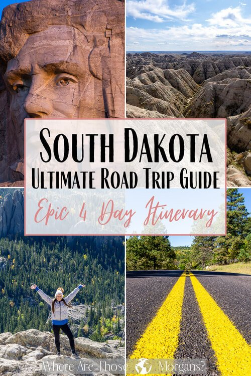 South Dakota Ultimate Road Trip Guide Epic 4 Day Itinerary