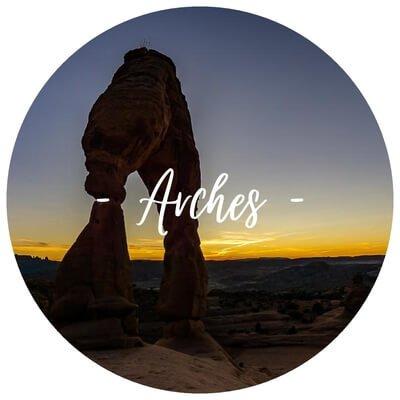 arches national park Utah Road trip delicate arch devils garden trail