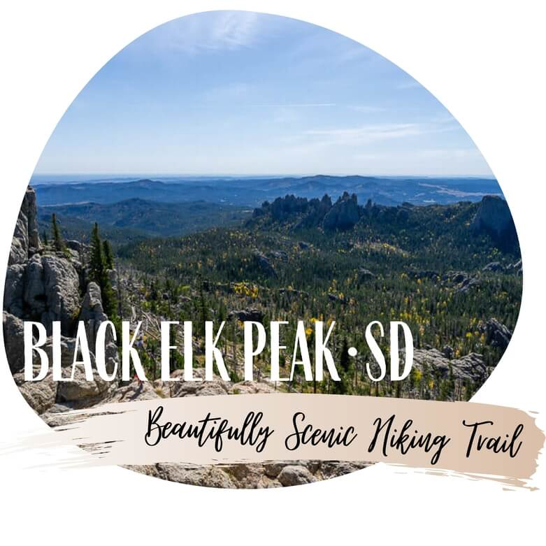 Black Elk Peak hiking trail Custer state park black hills national forest South Dakota road trip itinerary