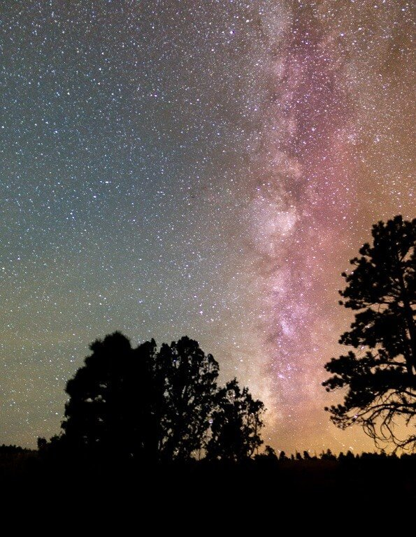 Bryce Canyon astrophotography amazing Milky Way image over Wall Street star photography