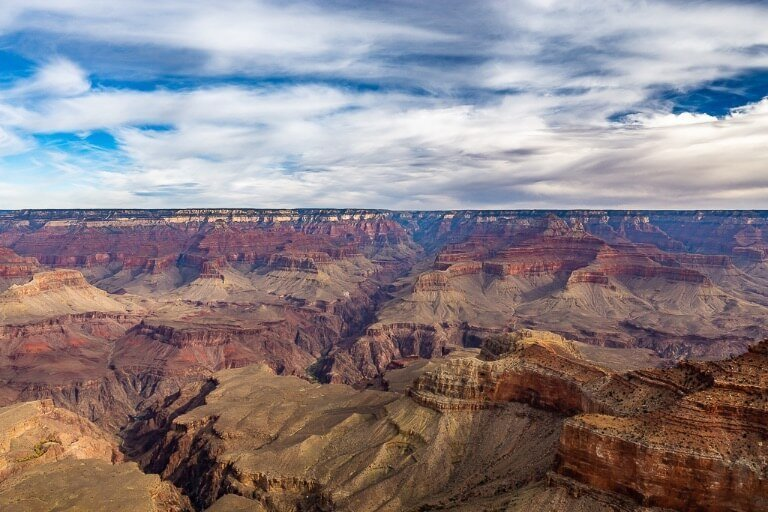 Dramatic Grand Canyon North Rim View Close to Zion on Utah Road Trip