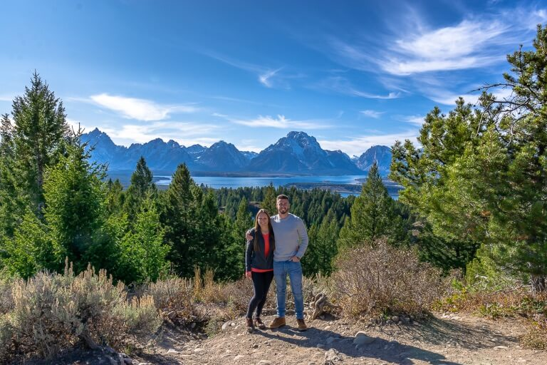 Mark and Kristen Where are those Morgans about us page grand teton national park Wyoming