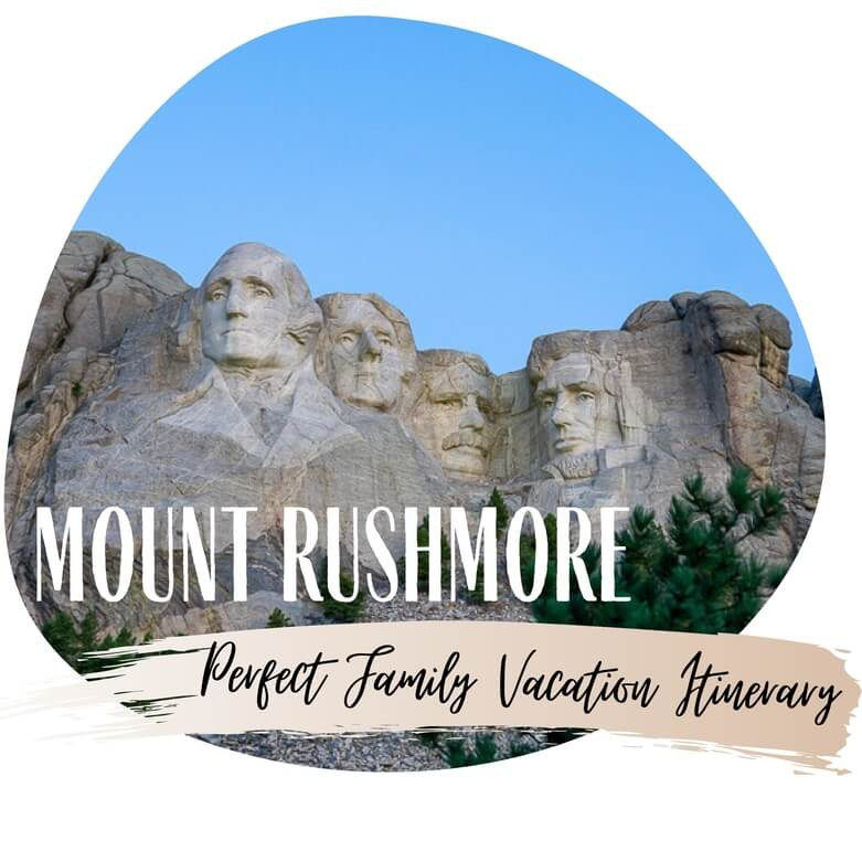 Mount Rushmore vacation USA road trip itinerary South Dakota