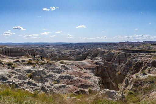 South Dakota road trip where are those Morgans badlands national park