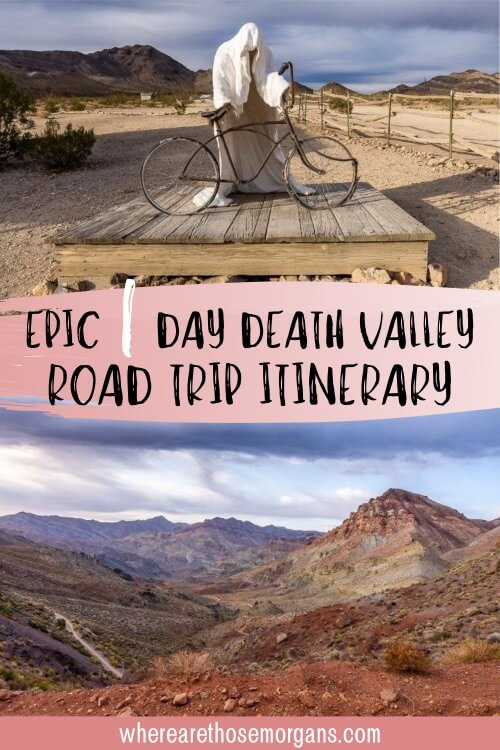 Epic one day Death Valley road trip itinerary