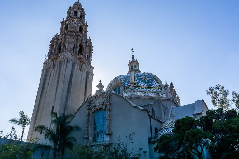 Museum of man and tower balboa park