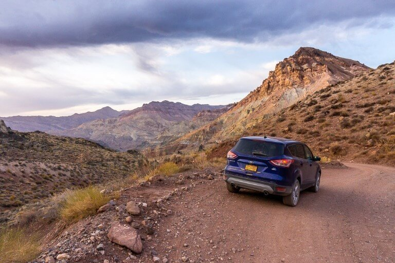 Titus Canyon one way 4wd road amazing views and canyon driving Death Valley things to do in one day California national park