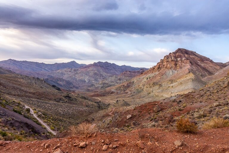 One day in Death Valley itinerary Las Vegas day trip Titus canyon amazing colors