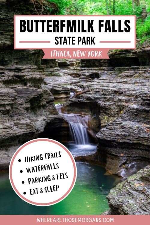 Buttermilk Falls State Park Ithaca New York Complete hiking waterfalls guide