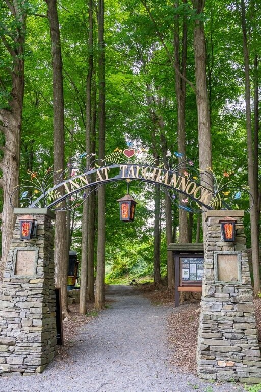 Taughannock Falls Inn best place to stay when visiting the state park near Ithaca ny finger lakes