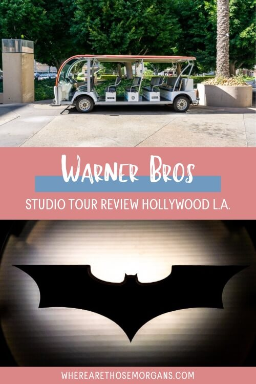 Warner Bros Studio tour review Hollywood LA