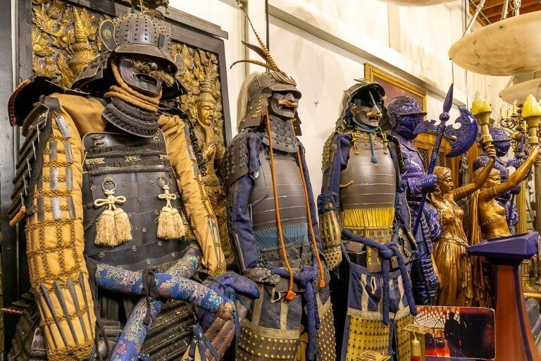 The last samurai movie props in Hollywood