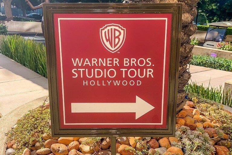 Warner Bros Studio Tour Hollywood Sign
