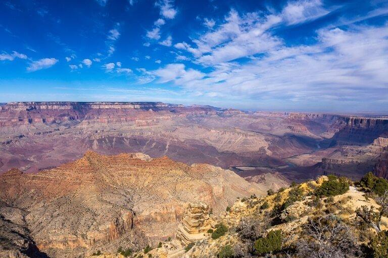 Stunning views from Desert View Watchtower in Arizona