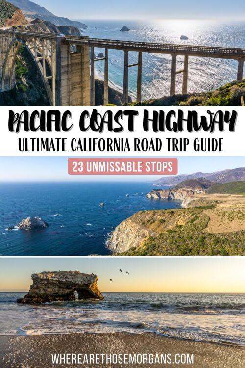 Pacific Coast Highway 1 San Francisco to San Diego epic road trip