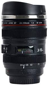 Coffee Thermos Camera Lens gift ideas for photographers