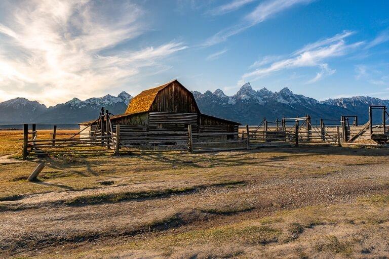 John Moulton barn mormon row photography grand teton national park best things to do