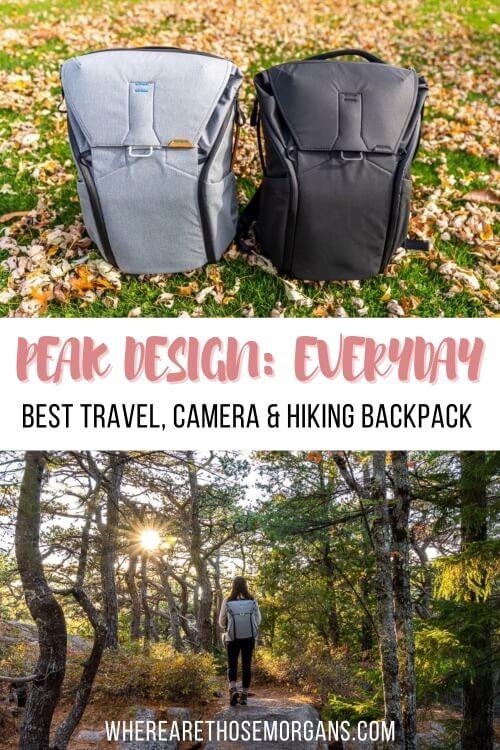 Peak Design Everyday Backpack Best Travel Camera And hiking Backpack