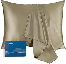 Silk pillowcase for travel hotels hostels travel pillow on flights