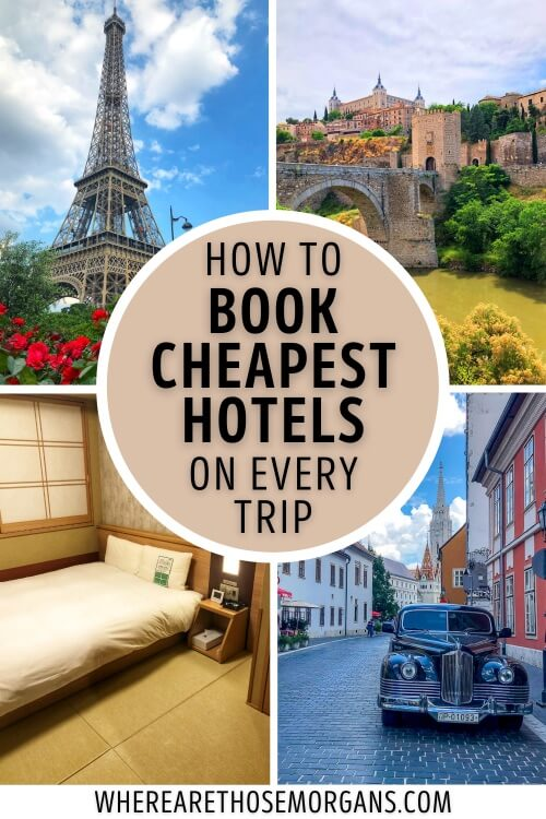 How To Book Cheapest Hotels On Every Trip