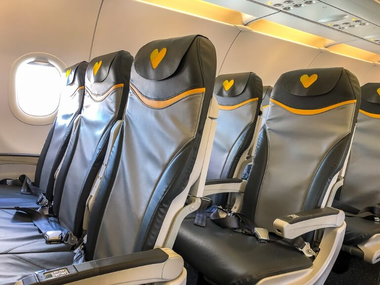 Basic Economy Seats on an aircraft are budget friendly thomas cook airlines