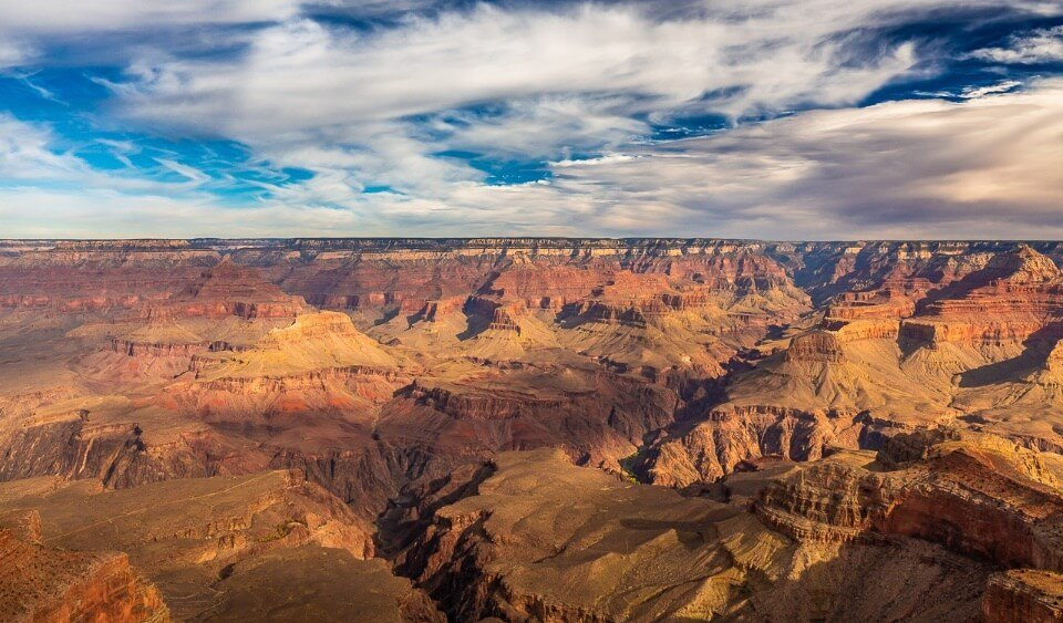 Stunning picture of the grand canyon arizona national park one of the most famous in america