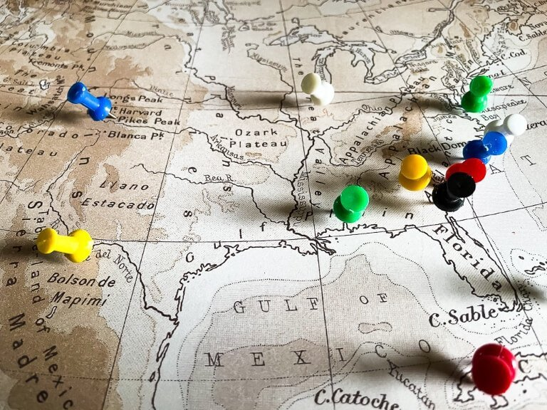 Where Do You Want To Go? Look at maps, your atlas, google maps and begin to formulate a travel route