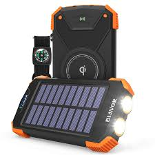 Solar Power Bank for Outdoor Hikers
