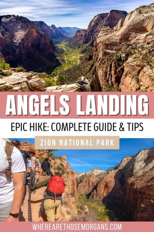 Angels Landing Epic Hike Complete Guide & Tips Zion National Park Utah