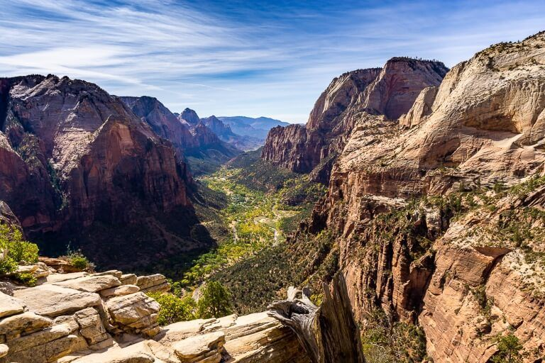 Zion National Park in Utah most famous hike is Angels Landing trail complete guide and tips stunning canyon views