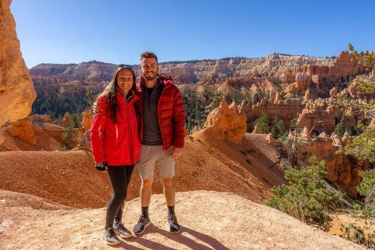 Mark and Kristen where are those morgans descending into bryce canyon amphitheater via queens garden trail and navajo loop trail the best hike at bryce canyon national park