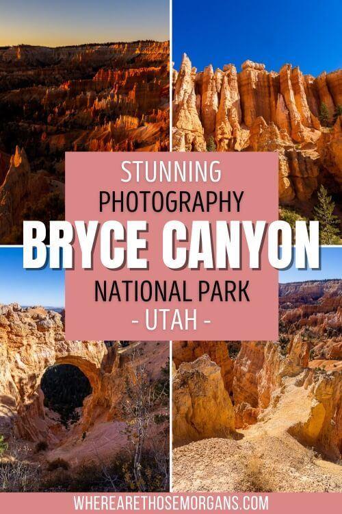 Stunning Photography Bryce Canyon National Park Utah