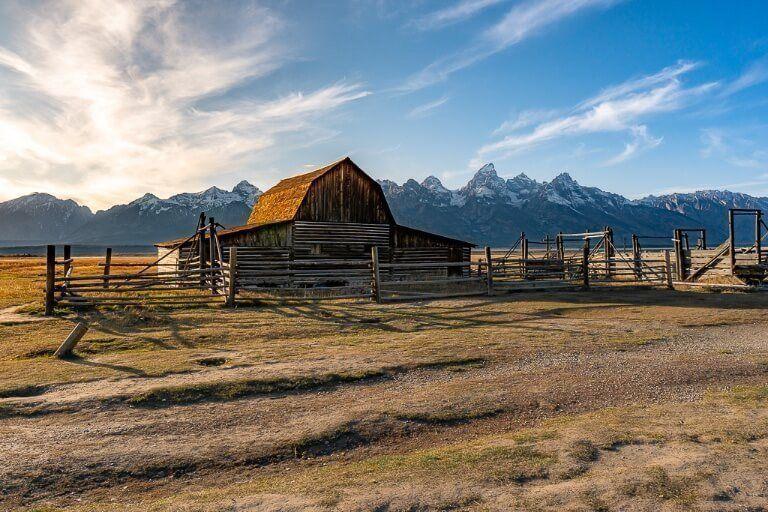 John Moulton barn mormon row grand teton national park